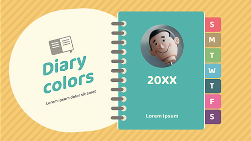 diary colors