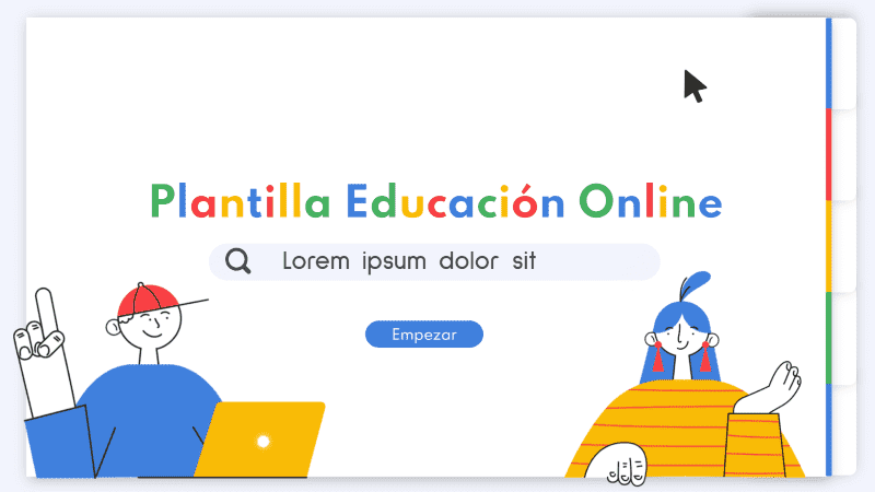 Vuelta al cole: plantilla para crear una guía de educación online