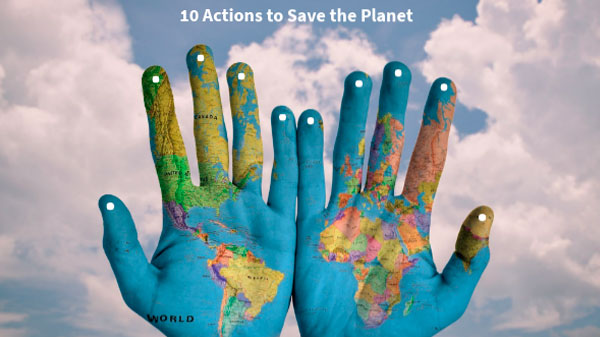 Actions to Save the Planet
