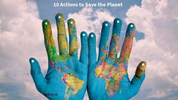 Ations pour sauver la planete