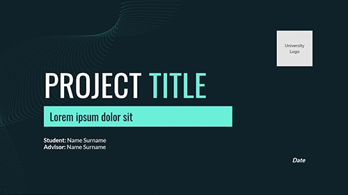 Thesis or Final Project